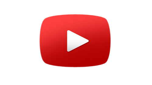 YouTube Play Overlay Icon